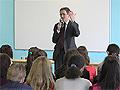 Николай Левичев провел открытый урок о развитии парламентаризма в России