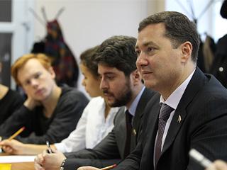 Александр Агеев и Илья Свиридов провели встречу с делегацией шведских студентов