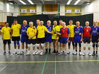 Александр Агеев: в матче с ветеранами РАНХиГС сборная команда СР продемонстрировала сплоченность