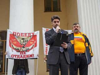 Москвичи собрали подписи против закрытия кинотеатра 'Победа'