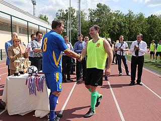 Команда СР приняла участие в ежегодном футбольном турнире фракций Государственной Думы