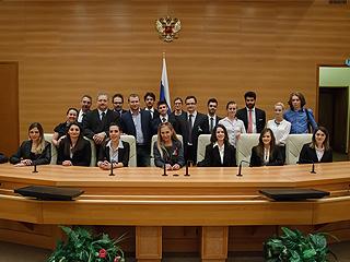 Александр Агеев принял делегацию итальянской молодежи