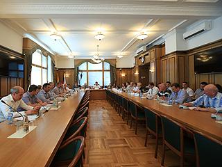 В Москве состоялось расширенное заседание Региональной Палаты депутатов СР
