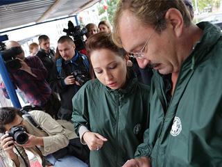'Зеленый патруль' выявил грубые нарушения природоохранного законодательства на стройке, прилегающей к резиденции Коломойского