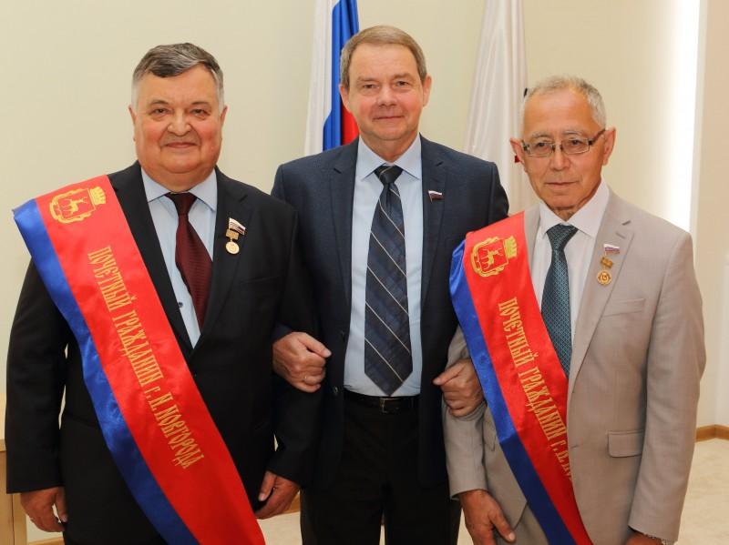 Нижний Новгород: депутатам от СР вручены регалии Почетных граждан города