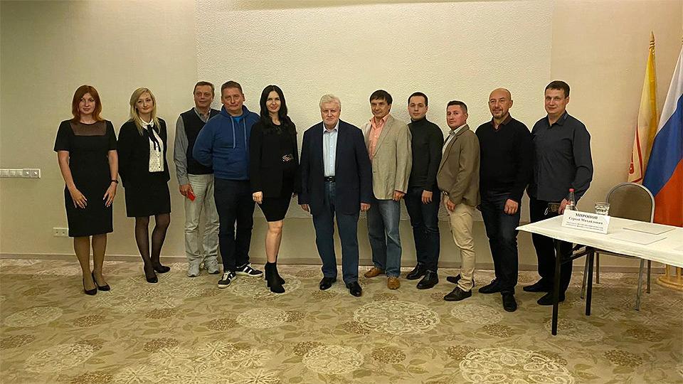 Сергей Миронов посетил с рабочим визитом Кировскую область