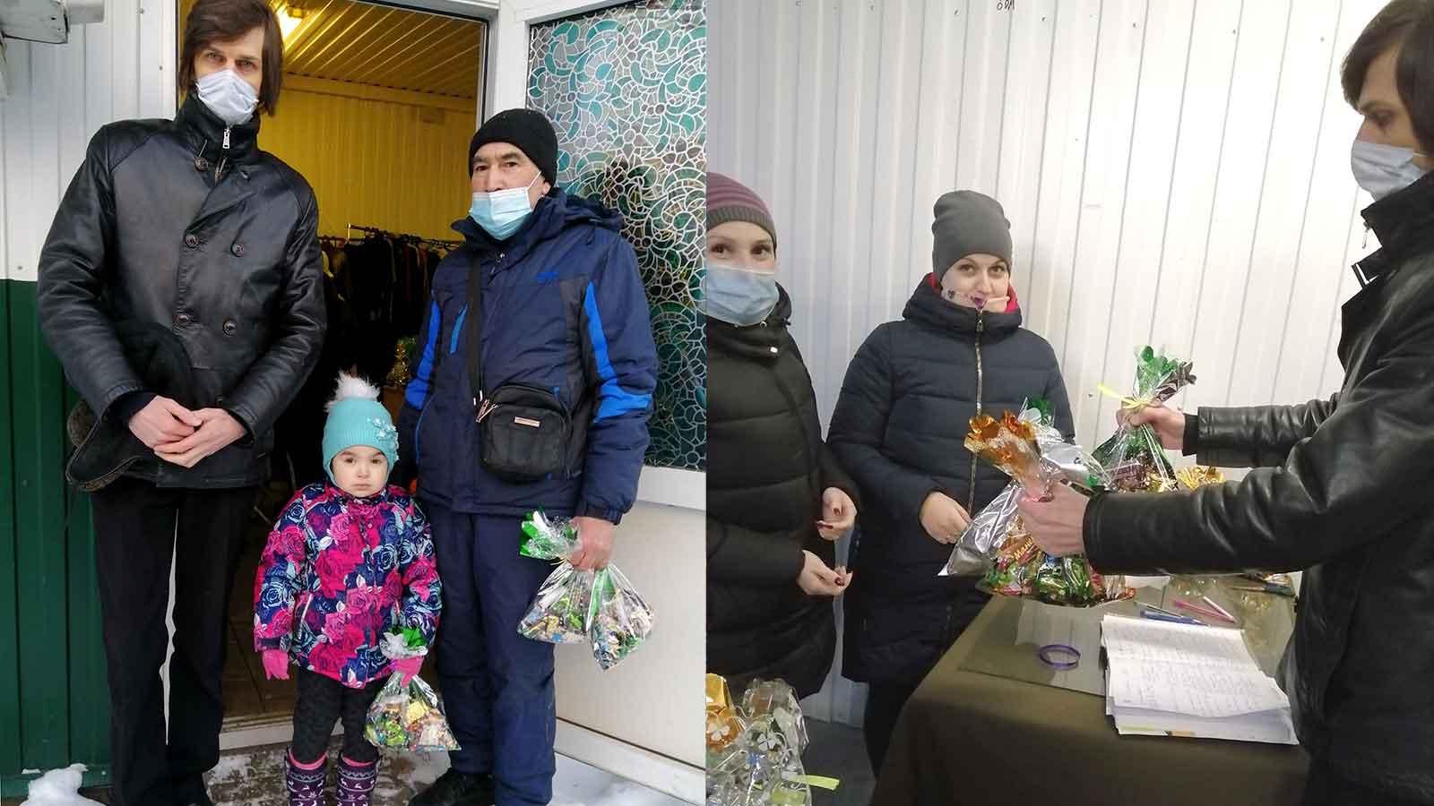 Ярославская область: СР вручила детям сладкие рождественские подарки